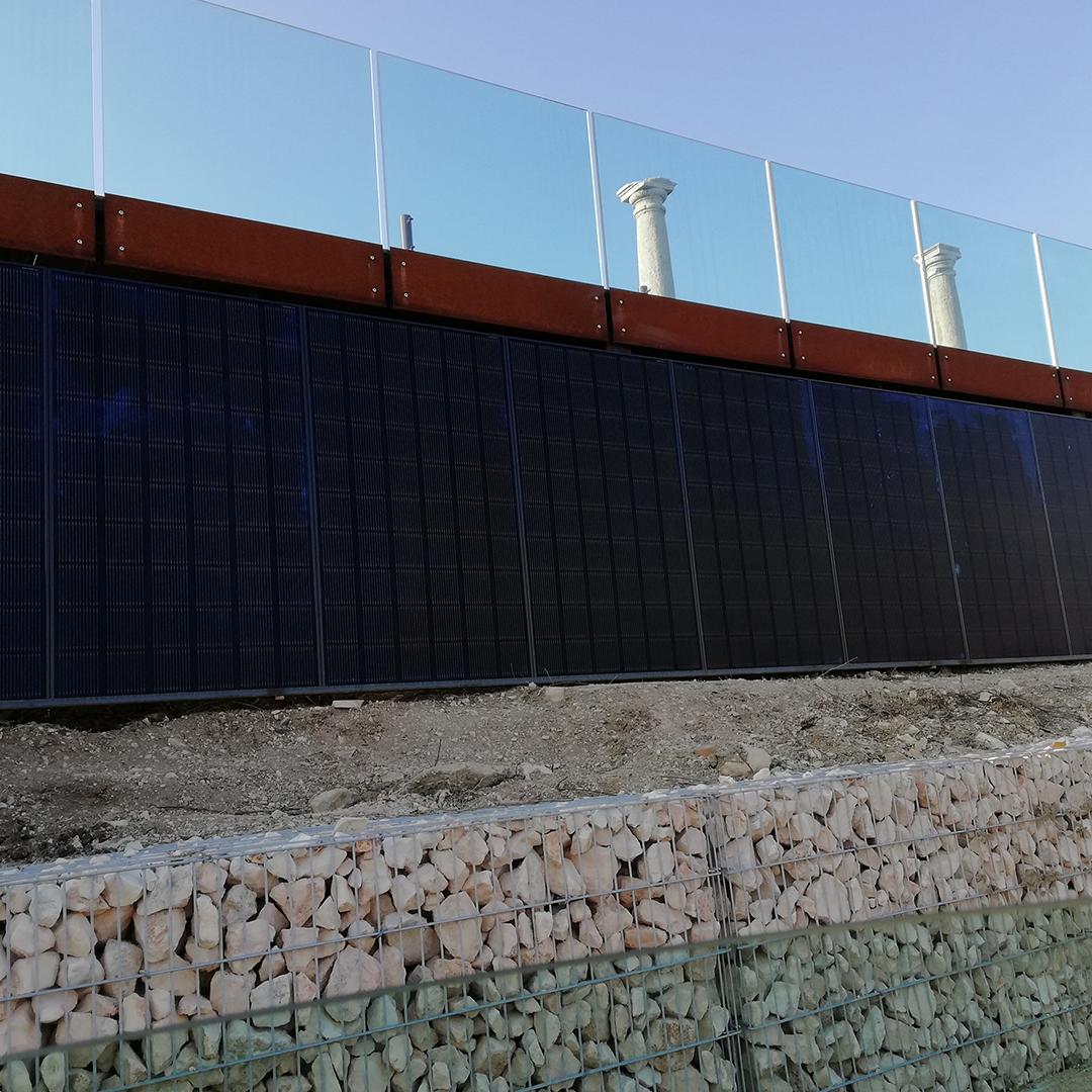 fotovoltaico a parete